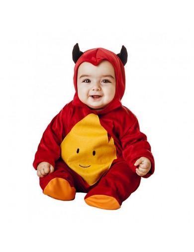 Disfraz de Diablo, Para Bebés. Carnaval, Halloween. Costume for Babies Little DevilDisfraces Infantiles