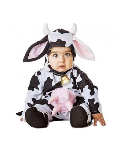 Disfraz de Vaca, Para Bebés. Carnaval, Halloween. Little Cow Costume for BabiesDisfraces Infantiles