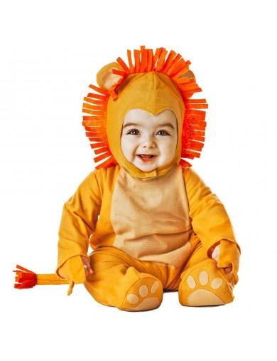 Disfraz de León, Para Bebés. Carnaval, Halloween. Little Lion Costume for BabiesDisfraces Infantiles