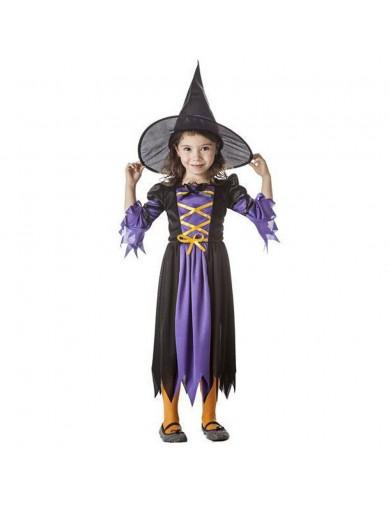 Disfraz de Bruja, Para Bebés. Carnaval, Halloween. Witch Costume for BabiesDisfraces Infantiles