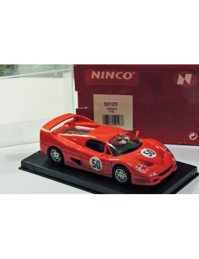 Ferrari F-50, Coche de Slot (NINCO 50123). SLOT CAR NINCO 50123