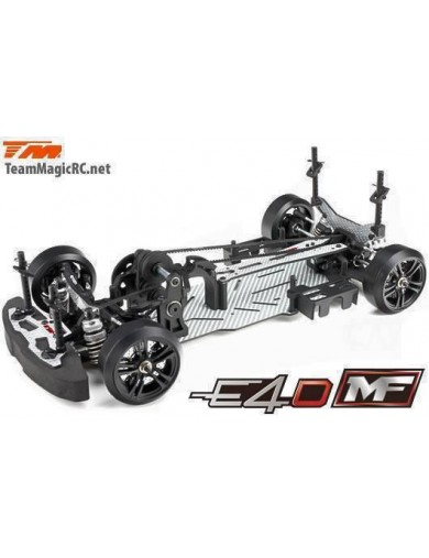 Coche Drift RC Team Magic E4D-MF C.S. Silvia S15 (TM503019-S15) TM503019-S15 Coches RC