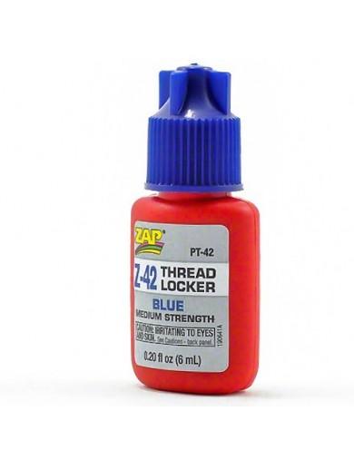 Fija Tornillos R/C Thread locker Blue (ZAP Z-42 PT-42) ZAP PT42 Aceites, Siliconas, Pegamentos, Limpiadores...