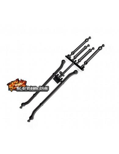 Links de Dirección Axial SCX10 Steering Link Parts (AX80017) AX80017 Recambios AXIAL
