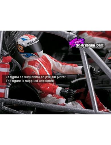 Figura Piloto /Copiloto Para COCHES RC 1/10. Driver (Killerbody 48050) KB48050 Accesorios Carrocerias RC