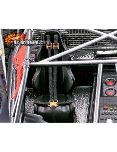 Arnés de seguridad piloto para COCHES RC 1/10. Seat Belt (Killerbody 48053) KB48053 Accesorios Carrocerias RC