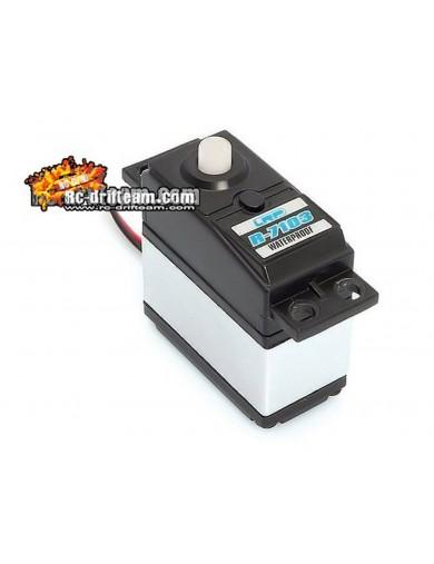 Servo para coches rc 1/10 - 1/8, R-7103 3Kg, Waterproof, conector FUTABA (LRP 133740) LRP 133740 Emisoras y Servos RC