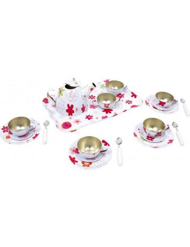 Juego de Té de juguete Laura 21 piezas. Tea Set toy LEGLER 5307 Cocinitas y Tiendas Juguete