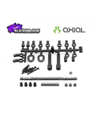 Mejora de Dirección Aluminio AXIAL SCX10 y AX10 Steering Upgrade Kit AX30426 Recambios AXIAL
