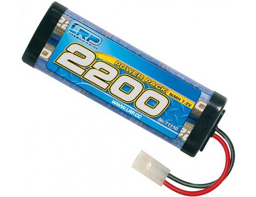 Batería RC 7,2v NiMh 2200mAh POWER PACK (LRP 71110) LRP 71110 Baterias RC