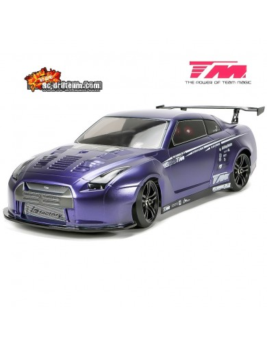 Coche Drift RC Team Magic E4D-MF Nissan GTR R35, RTR (TM503017-R35) TM503017-R35 Coches RC