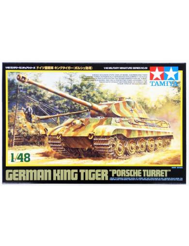 Tanque Alemán King Tiger, Torre Porsche (MAQUETAS TAMIYA 32539). German Tank TAMIYA 32539 Maquetas Tanques, figuras y otros 2...