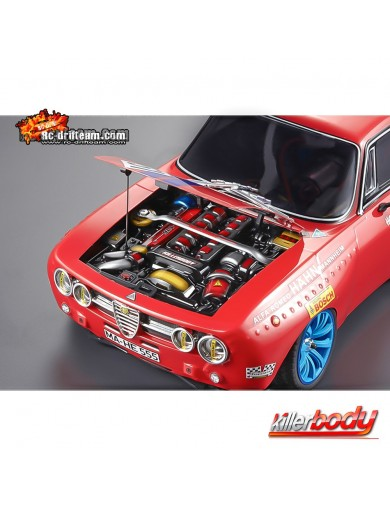 Motor Simulado para Coches RC 1/10, Body Engine (Killerbody 48504) KB48504 Accesorios Carrocerias RC