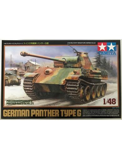 Tanque Aleman Panther Ausf.G (MAQUETAS TAMIYA 32520) TAMIYA 32520 Maquetas Tanques, figuras y otros 2ª Guerra Mundial