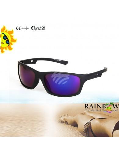 Gafas de Sol VIPER Espejo con Funda, Sunglasses UV400, tipo B