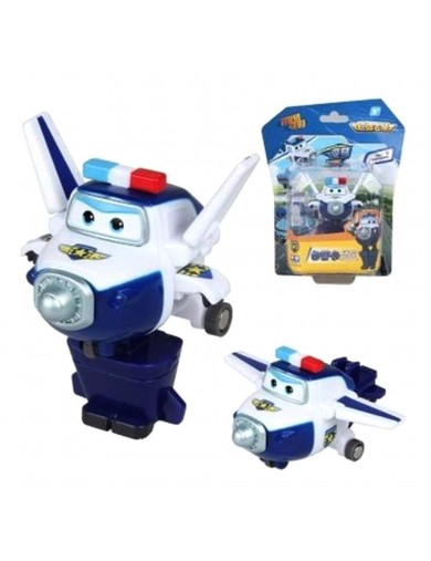 Super Wings Paul figura transformable. Superwings Action Figures Transformation ACB710050 Figuras y Sets de Acción