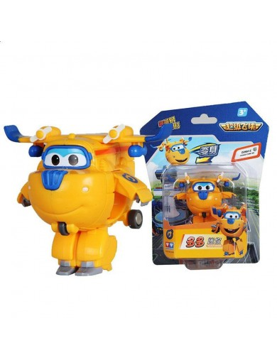 Super Wings Donnie figura transformable. Superwings Action Figures Transformation ACB710010c Figuras y Sets de Acción