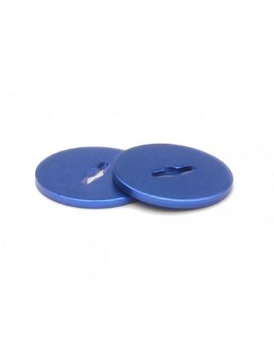 Slipper Pads, Aluminio Azul, FTX Banzai, Carnage, Vantage FTX6267 Recambios FTX / Banzai