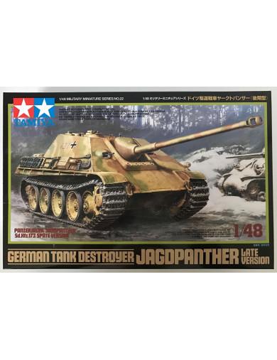 Tanque Alemán Jagdpanther 1945 (MAQUETAS TAMIYA 32522). Gerrman Tank Destroyer Military Model Kit TAMIYA 32522 Maquetas Tanqu...