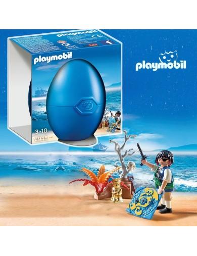 Pirata con Tesoro, en Huevo Sorpresa Playmobil 4945 PM4945 Playmobil