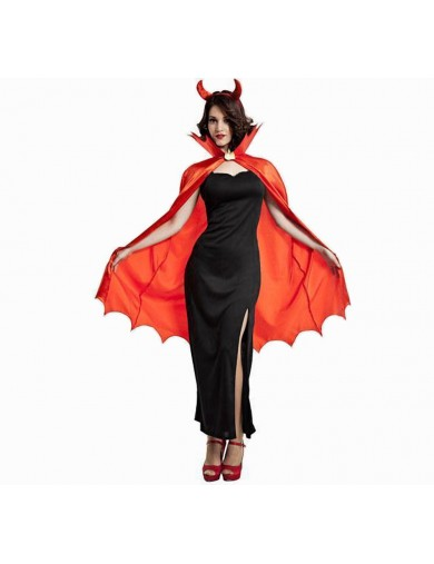 Disfraz de Diablesa. Halloween, carnaval. Devil Girl costumeDisfraces Adultos