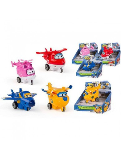 Super Wings, Vroom´n Zoom, Movimiento por Friccion. Superwings