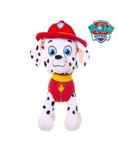 Peluche Perro Bombero, Patrulla Canina, 30cm, Nickelodeon Oficial, Marshall 37772 Muñecos y Peluches