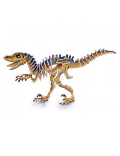 Puzzle 3D Esqueleto Dinosaurio Velociraptor LEG 1454 Puzzles y Rompecabezas