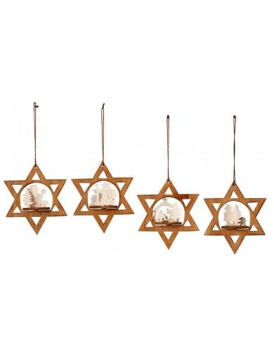 "Adornos Navideños, Estrellas de Navidad. Tree Decorations ""Winter Star"" LEG 3690 Artículos Navideños"