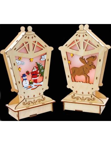 """Lámpara """"Cuento de Navidad"""". Adornos Navideños. Christmas Decorations. Lamp """"Winter Fairy-Tale"""" LEG 6709 Artículos Navideños"""