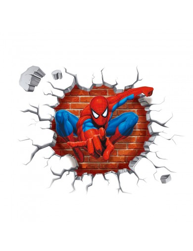 Vinilos Decorativos 3D Amazing Spiderman. Wall Stickers Vinyl Decal 3Dspider Vinilos Decorativos, Stickers