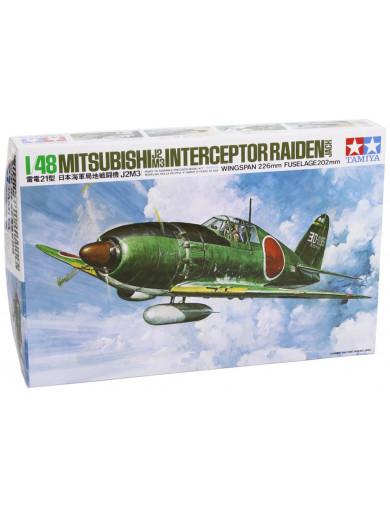 Maqueta Avión Mitsubishi J2M Raiden (JACK) TAMIYA 61018. Aircraft Model Kit TAMIYA 61018 Maquetas Aviones de Guerra