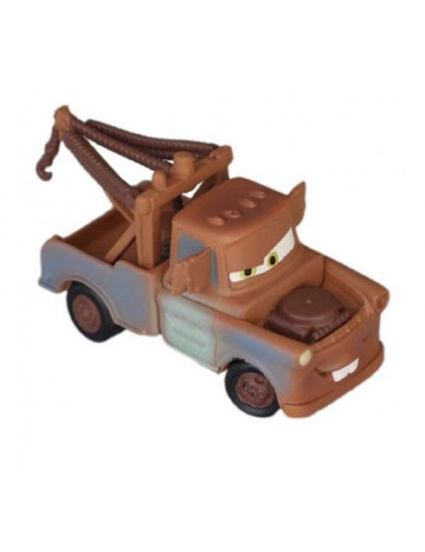 Figura Estática Mater Espia Cars Disney. Figures Toy Cake Toppers 127865 Decoración Fiestas