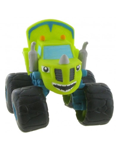 Figura Estática Zeg, Blaze Monster Machines. Figures Toy Cake Toppers 996264 Decoración Fiestas