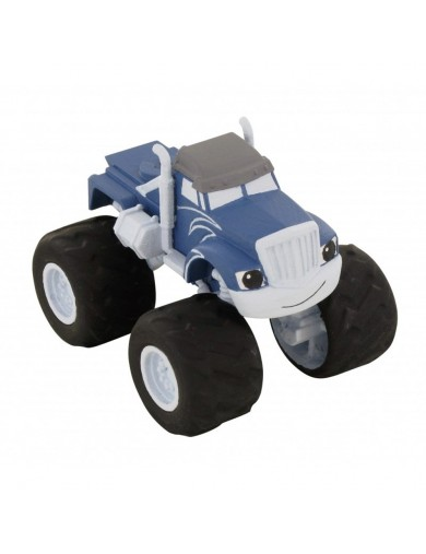 Figura Estática Crusher, Blaze Monster Machines. Figures Toy Cake Toppers 996226 Decoración Fiestas