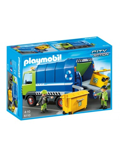 Camion de Reciclaje Playmobil 6110 PM6110 Playmobil