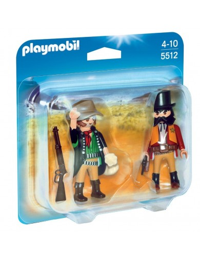 Duo Pack Sheriff y Bandido Playmobil 5512 PM5512 Playmobil