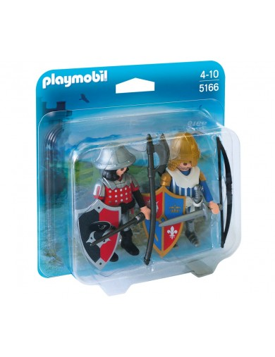 Duopack Caballeros Playmobil 5166 PM5166 Playmobil