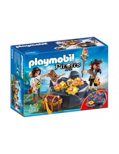 Escondite del Tesoro Pirata Playmobil 6683 PM6683 Playmobil
