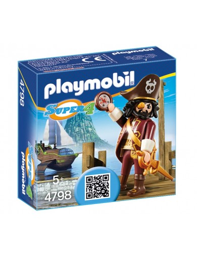 Pirata Sharkbeard Playmobil 4798 PM4798 Playmobil