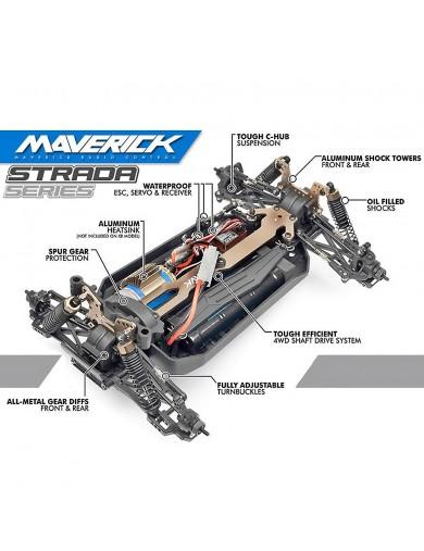 Coche RC Maverick Strada DT 1/10 RTR Desert Truck MV12620 Coches RC