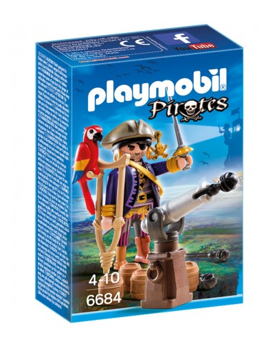 Capitan Pirata Playmobil Pirates 6684 PM6684 Playmobil