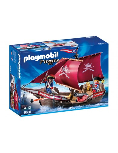 Barco Patrulla de Soldados Playmobil Pirates 6681 PM6681 Playmobil