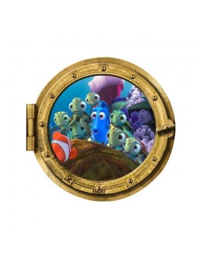 Vinilos Decorativos 3D Buscando a Nemo, Dory. Wall Stickers Vinyl Decal W028 Vinilos Decorativos, Stickers