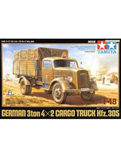 Maqueta Camión Militar de Carga Aleman KFZ.305 (3 TON 4x2) TAMIYA 89782. Military Model Kit TAMIYA 89782 Maquetas Tanques, fi...
