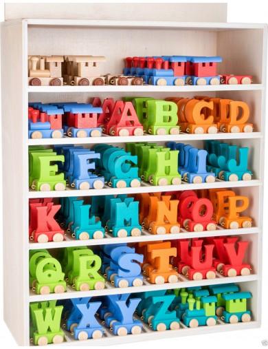 Tren Letras Madera, Nombre Personalizado Niño, Niña, Bebe, Wooden Train kid Name LEGTREN Decoración infantil