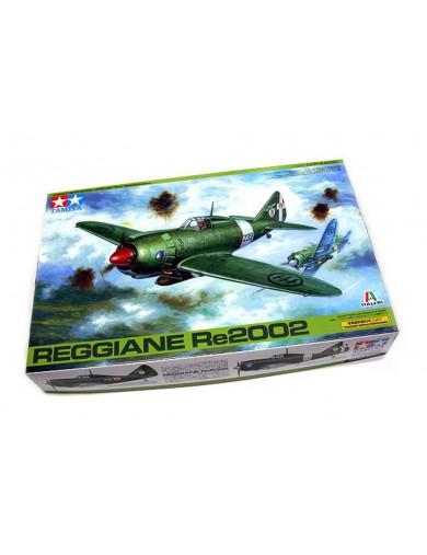 Maqueta Caza-Bombardero Reggiane RE.2002 TAMIYA 89787. Aircraft Model Kit TAMIYA 89787 Maquetas Aviones de Guerra