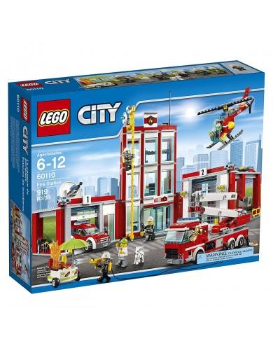 Estación de Bomberos LEGO CITY 60110 LEGO 60110 LEGO