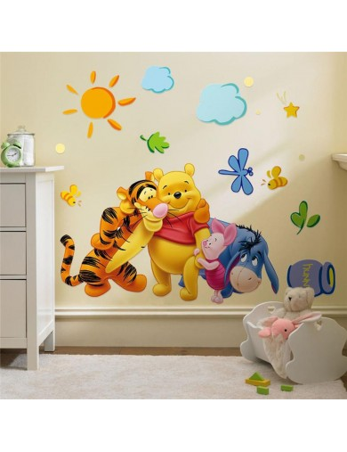 Vinilos Decorativos Winnie the Pooh y amigos. Wall Stickers Vinyl Decal ZYPA-2006-NN Vinilos Decorativos, Stickers
