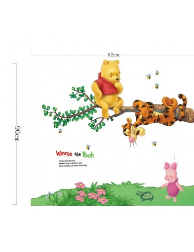 Vinilos Decorativos Winnie the Pooh y sus amigos. Wall Stickers Vinyl Decal ZYPA-2006-NN2 Vinilos Decorativos, Stickers